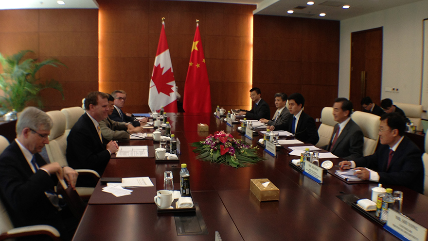 Baird Meets New Chinese Counterpart