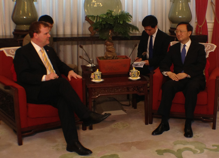Baird Congratulates Yang Jiechi on Appointment as Chinese State Councillor for Foreign Affairs and National Security