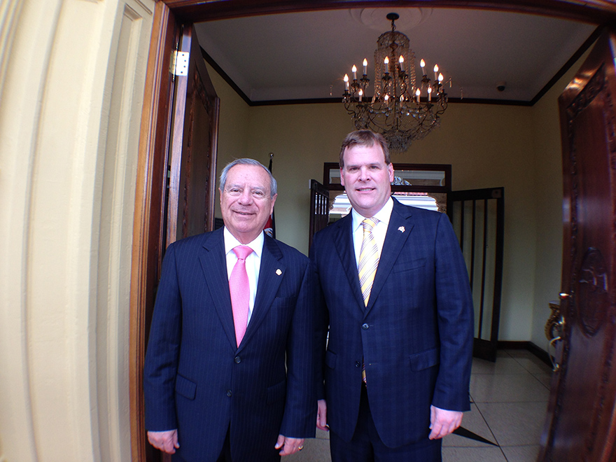 Baird Meets with Costa Rican Counterpart to Discuss Economic Relations
