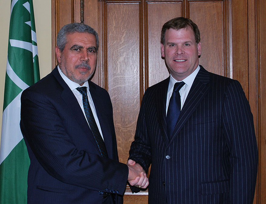 Baird Meets With Iraqi Vice-President Al-Khuzaie