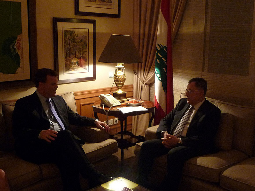 Baird Meets Lebanese Opposition Leader