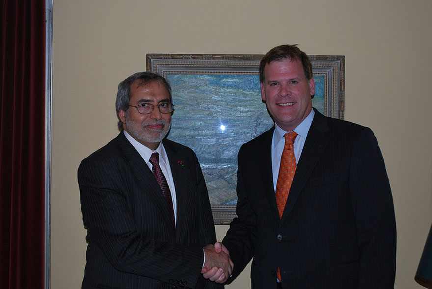 Baird Welcomes Libyan Education Minister