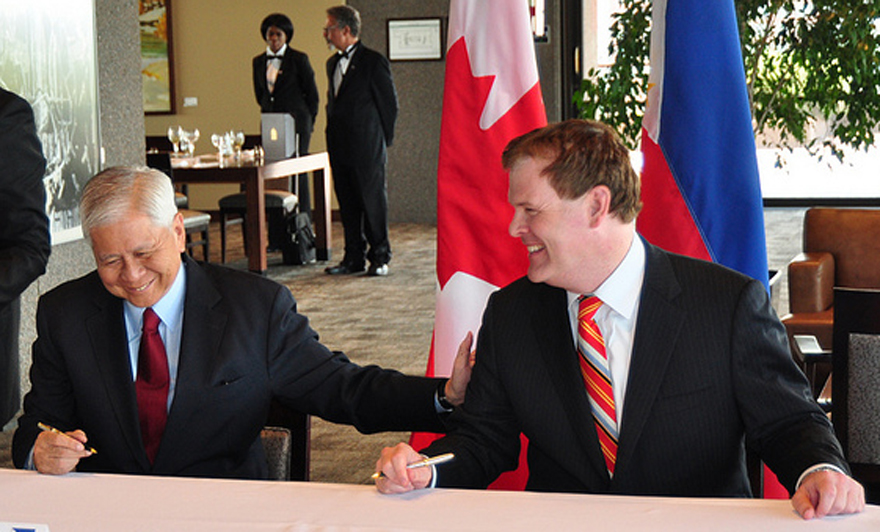 Canada and the Philippines Agree to Establish Joint Commission for Bilateral Cooperation