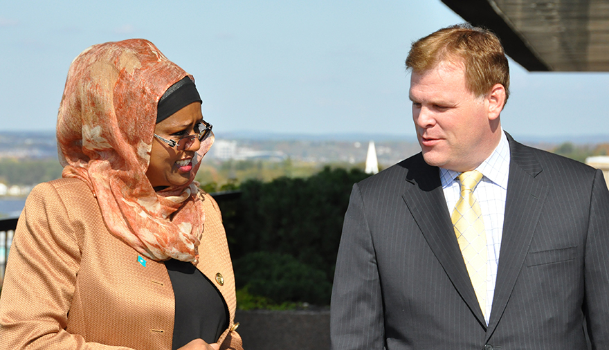 Baird Meets with Somali Counterpart