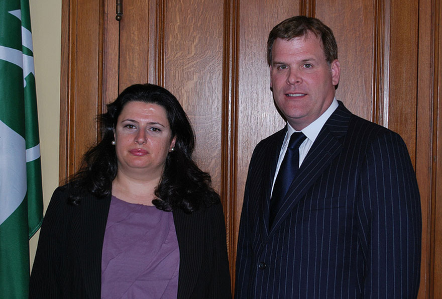 Baird Welcomes Syrian Opposition Activist