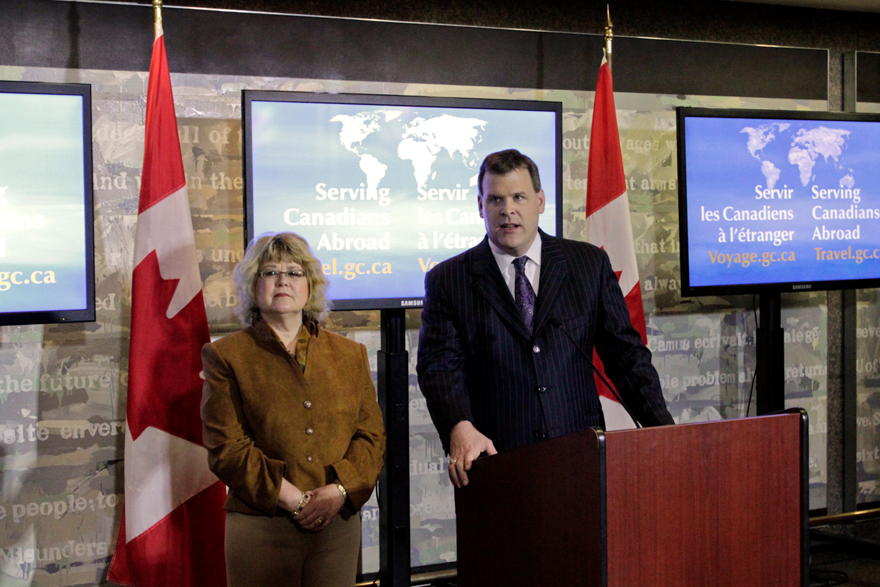 Minister Baird and Minister of State Ablonczy Issue Statement on the Situation in Syria