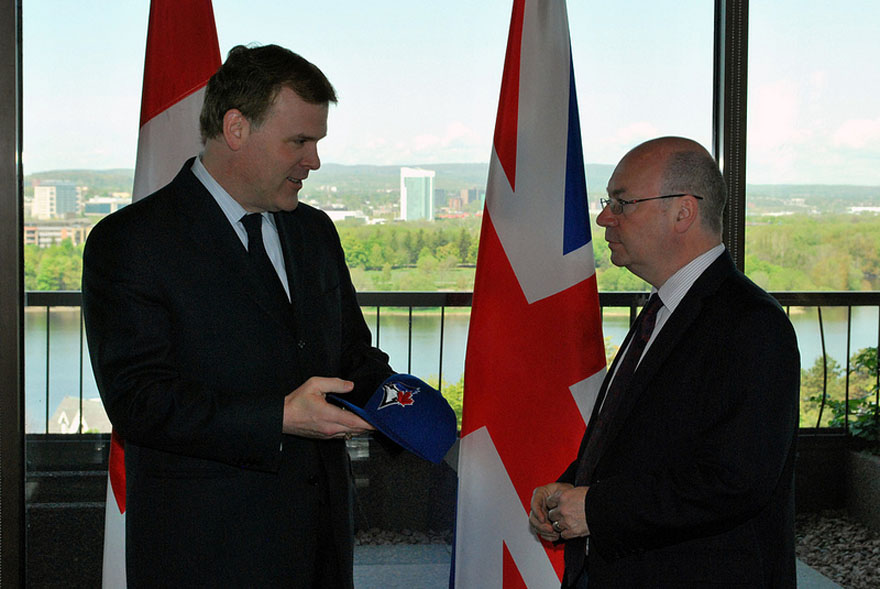 Baird Meets With U.K. Parliamentary Under Secretary of State Alistair Burt