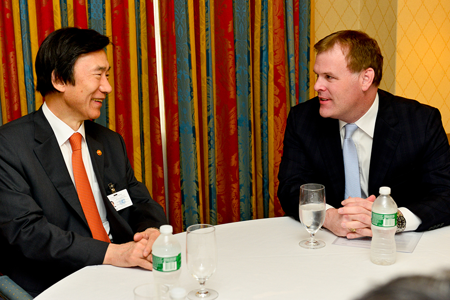 Baird Meets with South Korean Foreign Minister