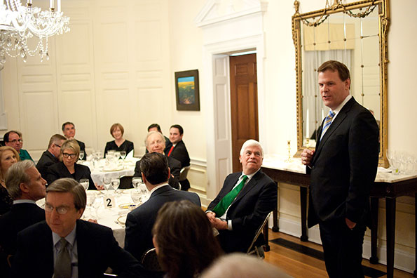Baird Attends Pre-Inauguration Dinner