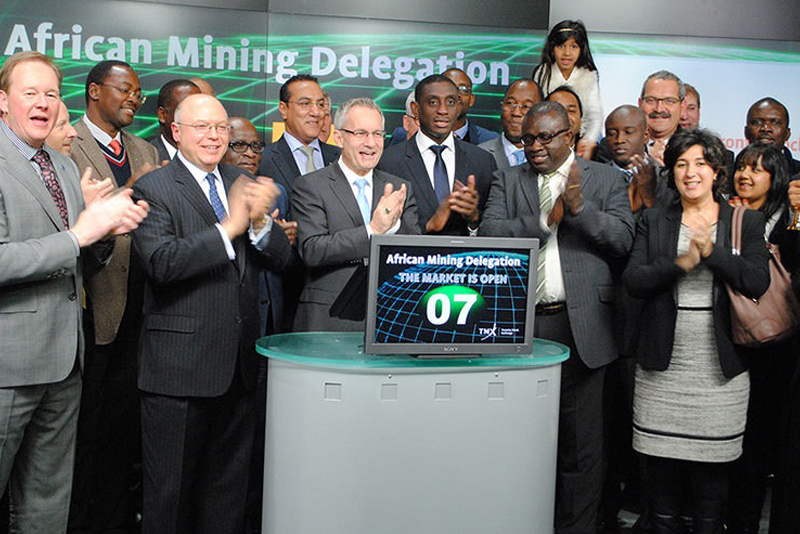 Minister Fast Underlines Importance of Toronto Stock Exchange in Global Extractive Operations