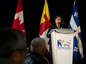 Minister Aglukkaq Delivers Keynote Address at Northern Lights Conference
