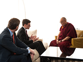 Canada's Ambassador for Religious Freedom Meets with His Holiness the Dalai Lama