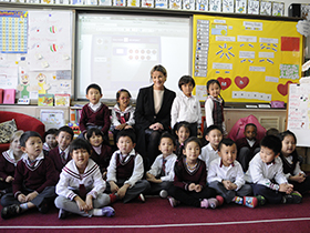Minister Yelich Visits Canadian International School of Beijing