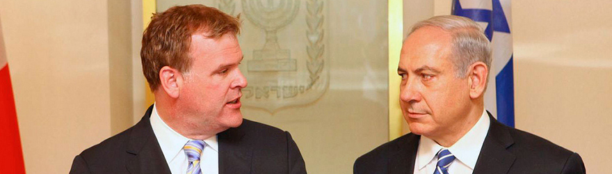 Baird Meets Israel's Prime Minister