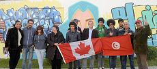 Les graffitis dressent la toile de fond de la Tunisie de demain