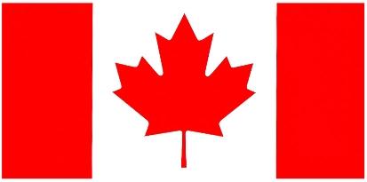 Modèle du drapeau national du Canada
