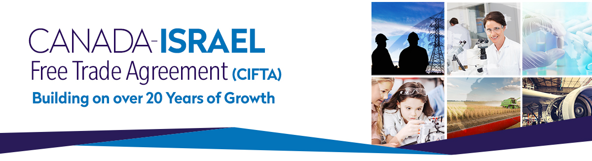 Canada-Israel Free Trade Agreement banner