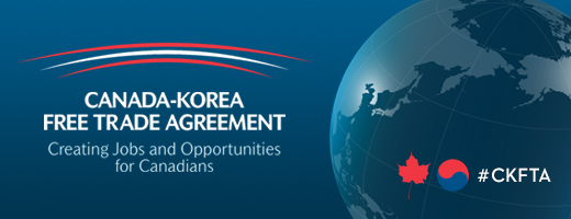Canada-Korea Free Trade Agreement (CKFTA) - Creating jobs and opportunities for Canadians
