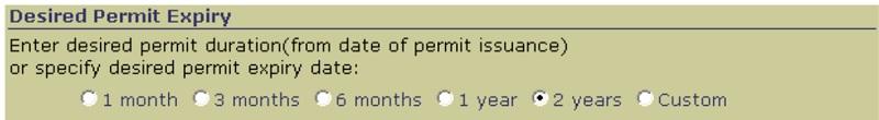 E.5. Export Permit Validity