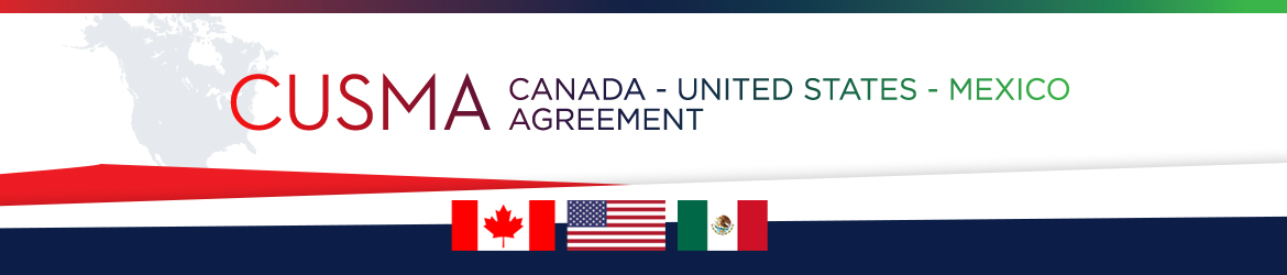 Canada-United-States-Mexico Agreement banner