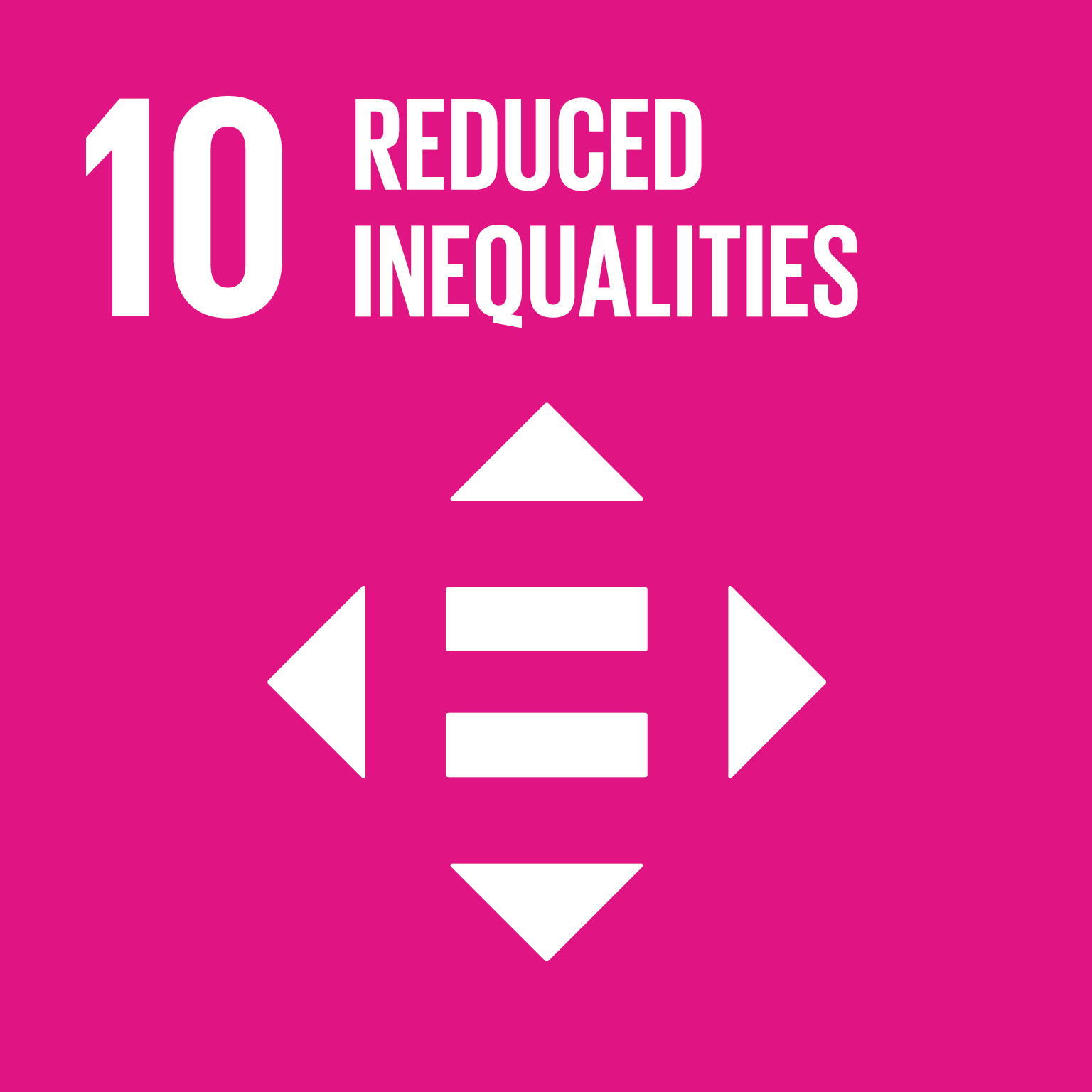 Goal 10 – Reduced inequalities