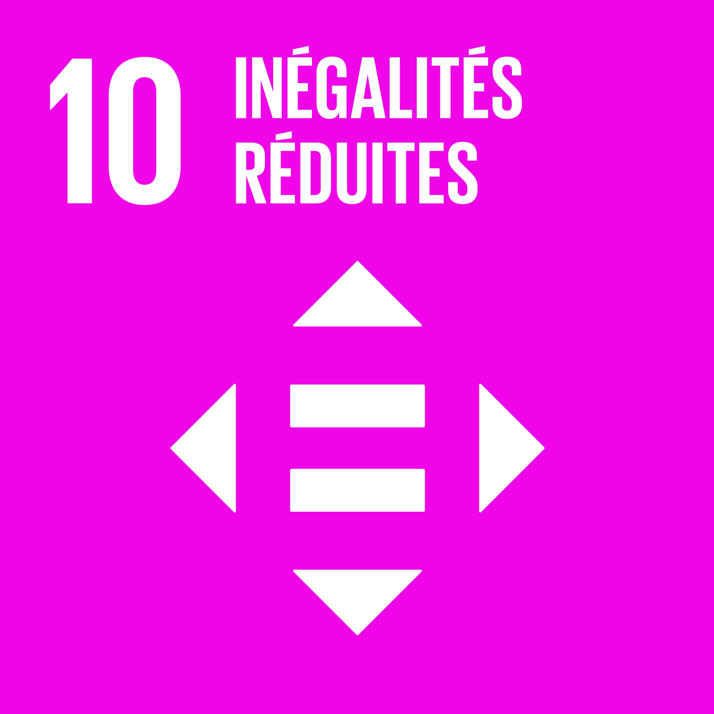 Objectif 10 – Inégalités réduites