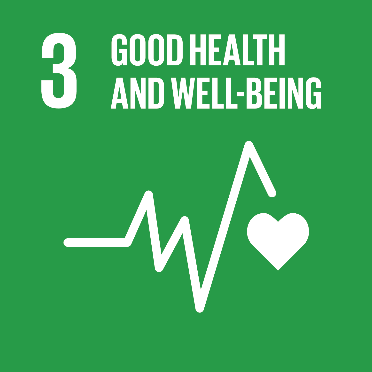 Goal 3 – Good health and well-being