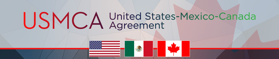 North American Free Trade Agreement banner