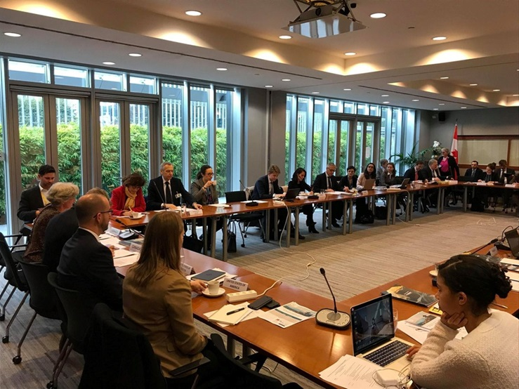 Meeting of the International Contact Group on Freedom of Religion or Belief (ICG-FoRB) on March 6, 2019, in Geneva
