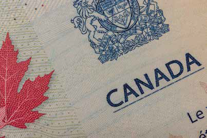 Canadian passport. Credit: Shutterstock