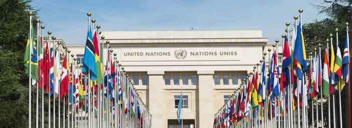 Canada engages with multilateral institutions, such as the United Nations, to promote human rights internationally. Credit: Shutterstock