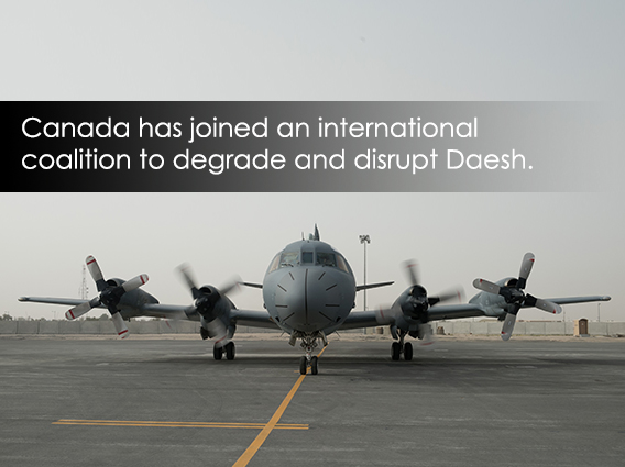 Canada has joined an international coalition to degrade and disrupt ISIL
