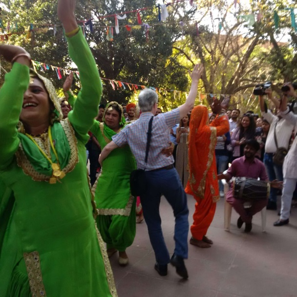 People from across Punjab sing and dance their way through Chandigarh in the 2017 Pride Walk.