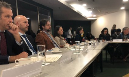Canada hosts a discussion with international partners and non-governmental organizations about the safety of children in Colombia.