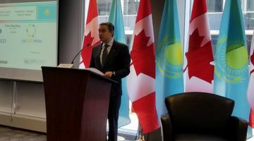 Canada and Kazakhstan