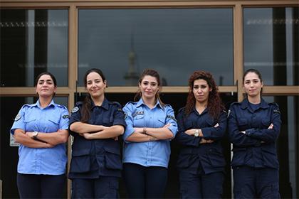Les femmes de la police municipale d'Al Mina