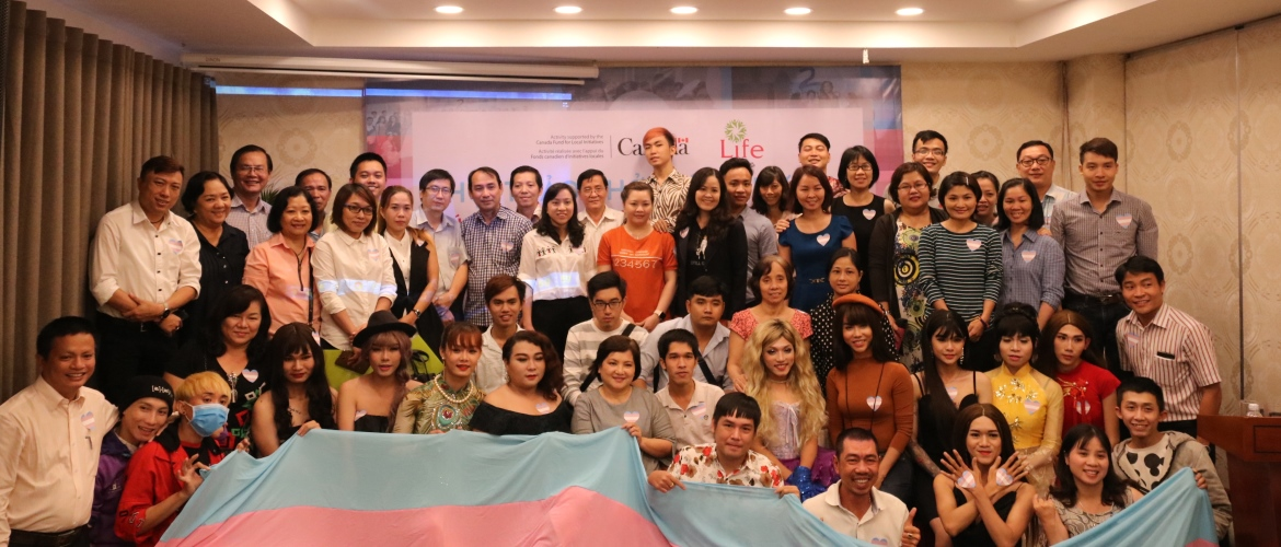 LIFE Center Project: Promoting gender sensitivity in health care services for transgender people in Vietnam.