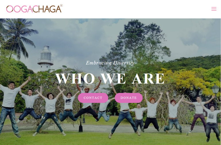 Canada helped Oogachaga make their website more user-friendly and accessible.