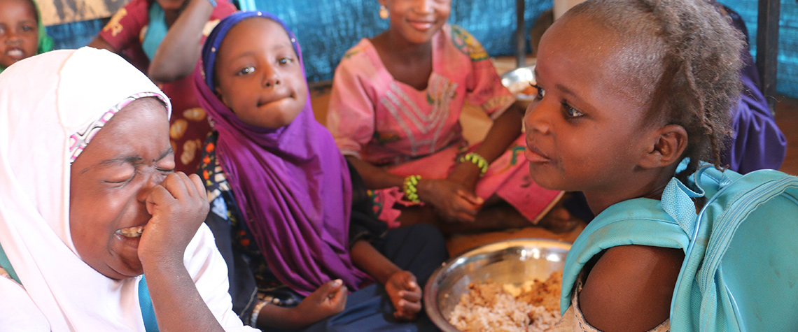 """""""This is one of my favorite moments of the day"""": School meals in Niger"""