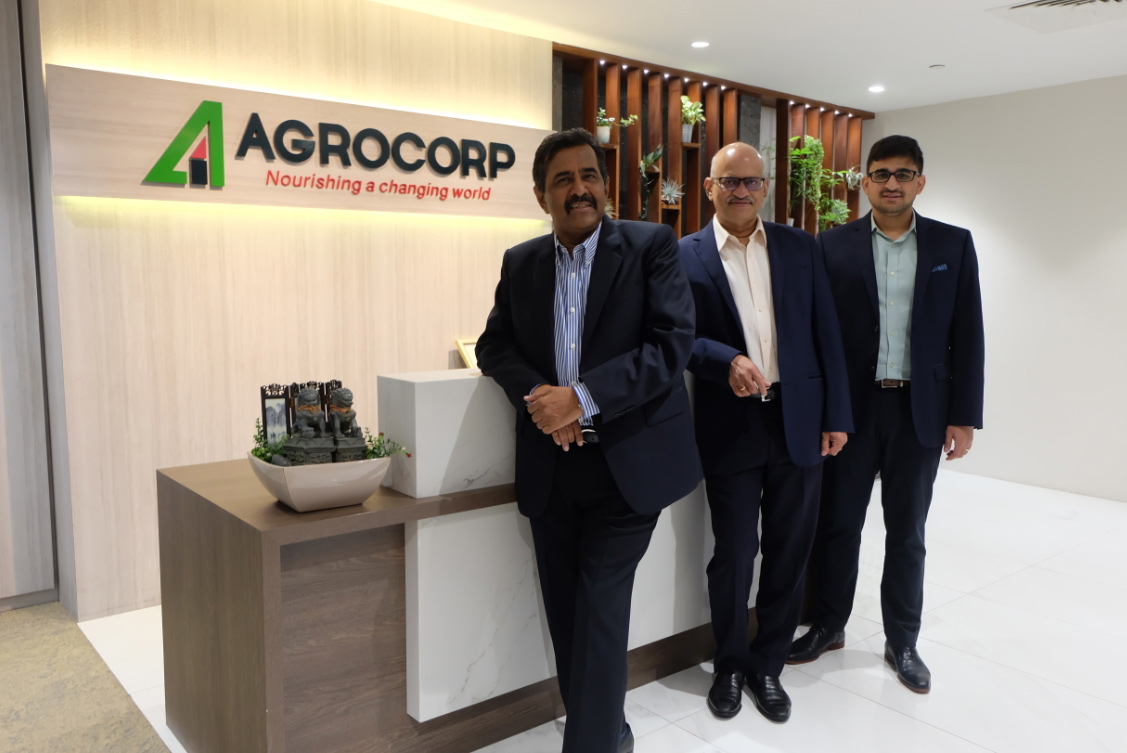 From left to right: Ravi Raghavan, Director, Vijay Iyengar, Chairman and Managing Director, and Vishal Vijay, Head of Business Development.