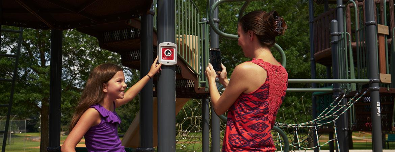 Biba technology makes playgrounds even more fun for children