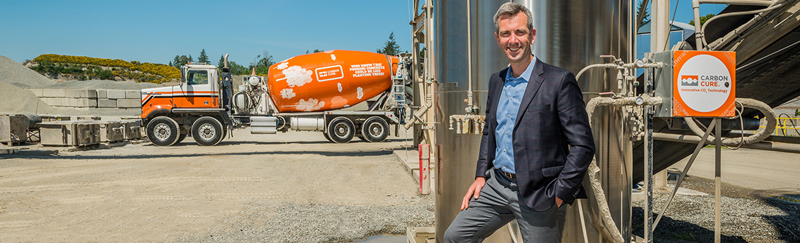 CarbonCure Technologies strengthens concrete and the fight against global warming