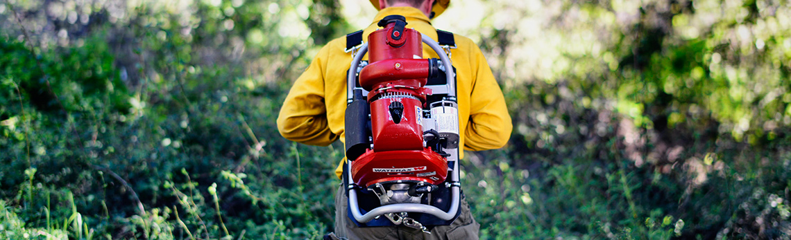 Montreal company's portable water pumps help wildland firefighters around the world