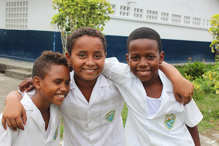 "145,000 children now benefit from psychological support and after school programs through the ""Vive la Educación"" program. Photo: Save the Children Colombia."