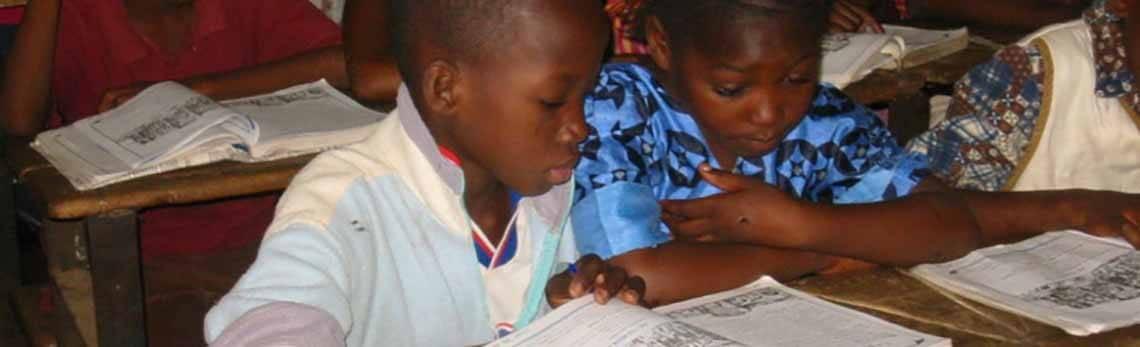 Textbooks for Malian students