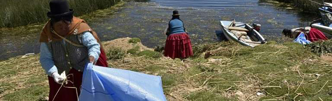 Indigenous women lead a unique water-conservation project on the shores of Lake Titicaca