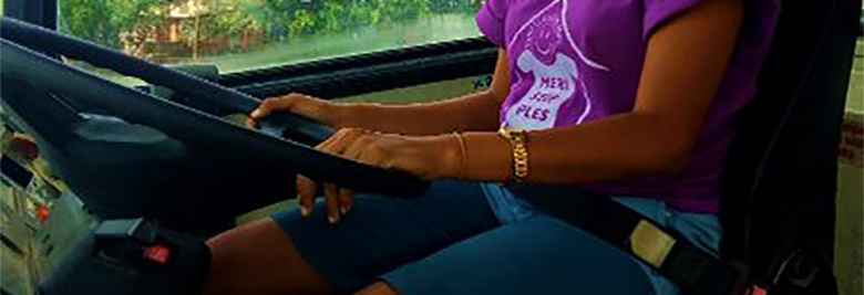 Women driving buses? Why not?!
