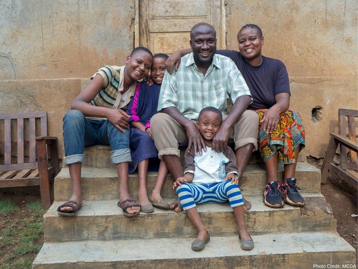 Merry Ulomi's family