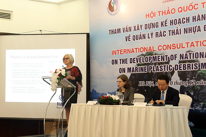 Canada hosting Vietnam's first International Consultation Workshop on the National Action Plan on Marine Plastic Waste Management.