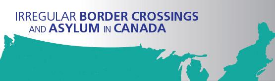 Irregular border crossings and asylum in Canada